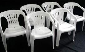 Cadeira Plástica Branca