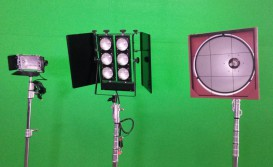 Set Light 1000w, Scoop Panelão 2000w, Mini Brut 6 Lâmpadas 650w